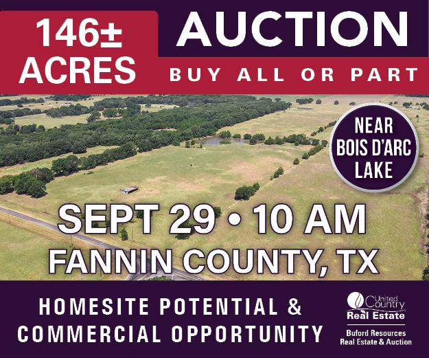 Bois d'Arc Lake Property for Sale