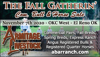 SS-The Fall Gatherin' Cow, Bull & Horse Sale-11-07-2020