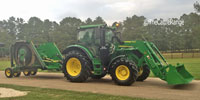 2017 John Deere 6110R Cab Tractor... S. Central MS