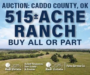 Caddo County OK Ranch Hunting Property