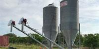 2 10-Ton Grain Silos... Central FL