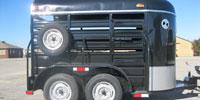 W-W 5' x 10' Bumper Pull Stock Trailer... N. Central TX